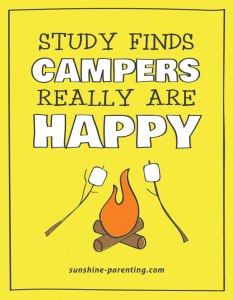 Campers Really are HAPPY