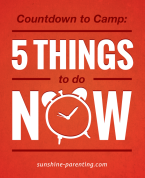 Countdown to Camp: 5 Things to do NOW