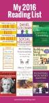 Sunshine Parenting 2016 Reading List